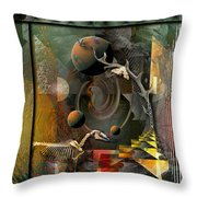 Deep Soul Journey Throw Pillow by Mimulux patricia no No