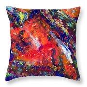 Deep Space 15-21 Throw Pillow