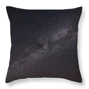 Deep Space Throw Pillow by Adnan Bhatti