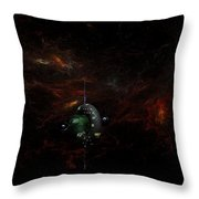 Deep Space  Gamma 1 Throw Pillow