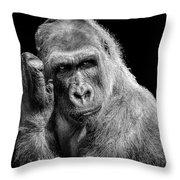 Deep Thought Throw Pillow