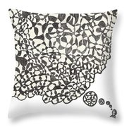 Deep Thoughts Throw Pillow