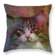 Deep Thoughts - Square Version Throw Pillow