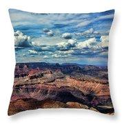 Deep Tones Grand Canyon  Throw Pillow