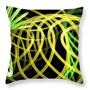 Deep Trance Throw Pillow
