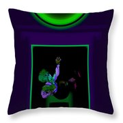 Deep Violet Throw Pillow