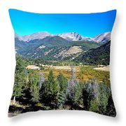 Deep Vista Throw Pillow