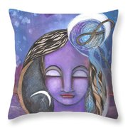 Deep Within Throw Pillow