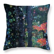 Deep Woods Mystery Throw Pillow