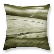 Deepening Shadows Throw Pillow