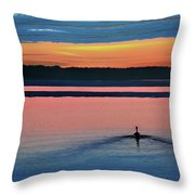Deepest Sunset Throw Pillow