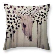 Deer Slayer Throw Pillow