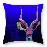 Deer1 Throw Pillow