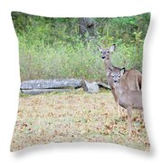 Deer47 Throw Pillow