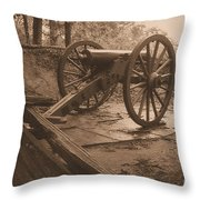 Defend The Mountain Throw Pillow
