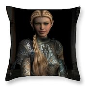 Defender Of The Realm Throw Pillow