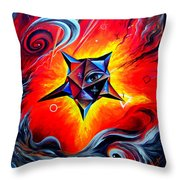 Defender Of The Way To Nirvana Throw Pillow
