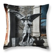 Defenders At The Gate Throw Pillow