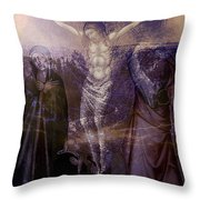 Defenders Of The Faith...after Vanni Throw Pillow