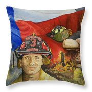 Defending Texas Throw Pillow