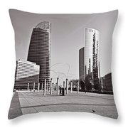Defense Architecture Throw Pillow