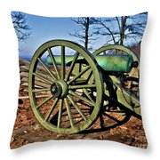 Defense Of Atlanta Throw Pillow