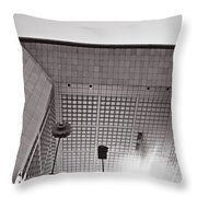 Defense Paris Throw Pillow