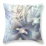 Deferential Inspirations Throw Pillow