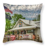 Defiance Road House St Charles Mo 7r2_dsc6907_04262017 Throw Pillow