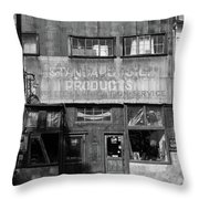 Defunct In Jerome Throw Pillow