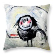 Degas Dancer Throw Pillow