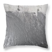 Degraded Landscape Minerals Mine In South Of Poland.  Throw Pillow