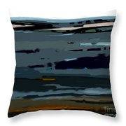 Deja Vue Throw Pillow by KR Moehr