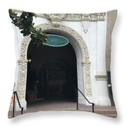 Del Mar Race Track Show Throw Pillow
