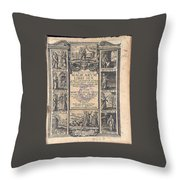 Del Rio- Witchcraft Throw Pillow