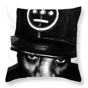 Del The Funky Homosapien Throw Pillow