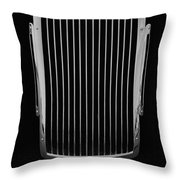 Delage D6 Grill Throw Pillow