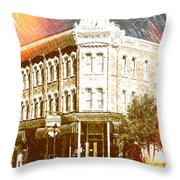Delaware Hotel Throw Pillow