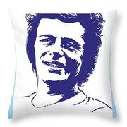 Delbert Mcclinton Throw Pillow