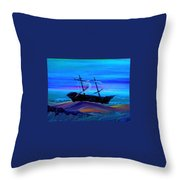 Deleon Throw Pillow by Chris Cloud