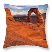 Delicate Arch 10 Throw Pillow