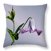 Delicate Bell Throw Pillow