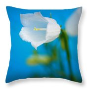 Delicate Bells Throw Pillow