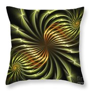 Delicate Grace Throw Pillow