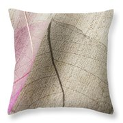 Delicate In Design Throw Pillow