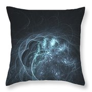 Delicate Lace Throw Pillow