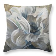 Delicate Reveal Throw Pillow