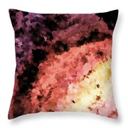 Delicate Warm Rainbow Throw Pillow