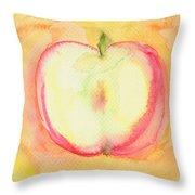 Delicious Apple Throw Pillow