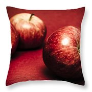 Delicious Red Throw Pillow